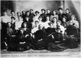 Domestic Science & Home Economics Class - circa 1907