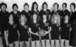 Women's Basketball Team 1980-81