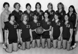 Women's Basketball Team 1981-82