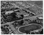 Aerial Photograph of Ricks College Campus - circa early 1960's