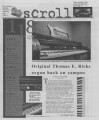 2001-02-06 The Scroll Vol 112 No 20