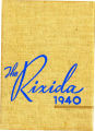 Rixida 1940 Yearbook