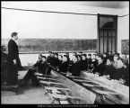 Image of Photograph of Brigham Young Academy Theory of Teaching class, 1898