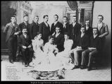 Image of Photograph of first class to graduate from the new Academy Building