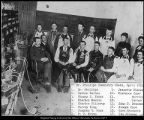 Image of Photograph of chemistry class, 1893