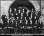 Image of Photograph of the faculty of Brigham Young Academy, circa 1900