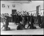 [Girls' physical education class at Beaver Branch, 1904]