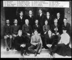 Image of Photograph of Commercial College faculty, 1902