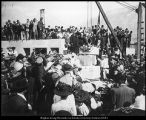 [Cornerstone laying for the Maeser Memorial Building, October 16, 1909]