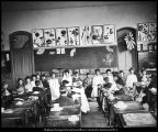 Image of B. F. Larsen photograph of children's Japanese presentation in the Training School