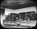 B. F. Larsen photograph of physics laboratory and lecture room, 1904