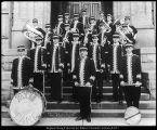 Olson & Hafen Photo photograph of Brigham Young University band, 1909