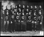 Image of Olson & Hafen Photo photograph of the high school commercial class of 1909