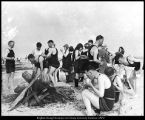 [Outing to Utah Lake, ca. 1912]