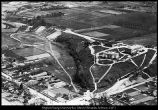 Image of Photograph of an aerial view of Brigham Young University in 1929