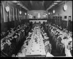 [Banquet in the study hall of the Grant Library, n. d.]