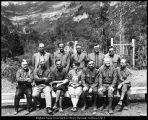 Image of Photograph of the faculty of Alpine Summer School, circa 1921-1929