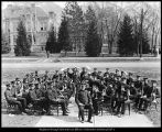Photograph of Brigham Young University band, 1923