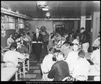 Image of Photograph of cafeteria in the Joseph Smith Memorial Building
