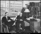 [Russel B. Swensen and Sidney B. Sperry of the Division of Religion, 1943]