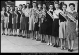"[Entrants in the ""Campus Sweetheart"" contest, 1939]"