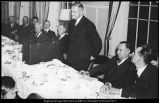 Image of Photograph of farewell dinner for G. Ott Romney at the Hotel Roberts
