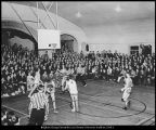 [Basketball game versus the University of Utah, 1937]