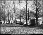 [Trailers at Raymond Grove on the east side of campus, 1940s]