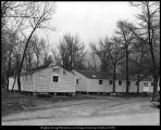 [Temporary building housing the Student Health Center, ca. 1946]