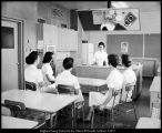 [Classroom in the Smith Family Living Center, ca. 1956]