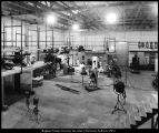"[Sound stages of Brigham Young University's ""Little Hollywood,"" 1950s]"