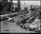 [Homecoming parade, 1952]