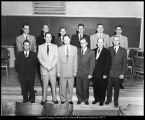 [Bishops of the wards forming the Brigham Young University stake, 1956]