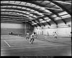 Image of Photograph of Indoor Tennis Courts Building