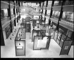 Image of Photograph of central gallery of the Harris Fine Arts Center