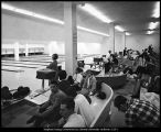 [The Wilkinson Center bowling alleys, 1960s]