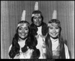 [Three members of the Lamanite Generation, 1972]