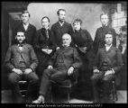 Image of Brigham Young University faculty, 1884