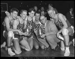[Basketball team, 1950-1951]
