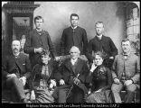 Image of BYA faculty, 1888