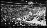 [A devotional in the Marriott Center, 1970s]