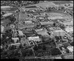 [Aerial view of the Brigham Young University campus, ca. 1974]