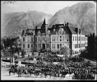 Image of Celebrating of first Founders Day homecoming day, BYA, 1900