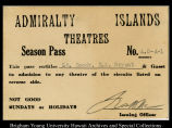 Admiralty Islands Theaters Season Pass