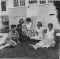 Summer of 1952 office Girls at...