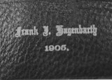 Diploma cover of Frank Hagenbarth