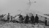 World War I plane crash