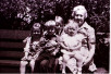 Mary Hoggan & grandchildren