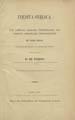 Inedita Syriaca : eine Sammlung syrischer Uabersetzungen von Schriften griechischer...