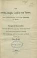 Narsai, ca. 413-503. Das zweite Josephs-Gedicht von Narses : nach 2 Handschriften der Kšnigl....